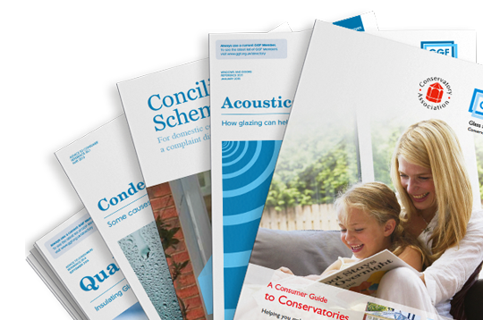 GGF glass and glazing consumer guidance leaflets