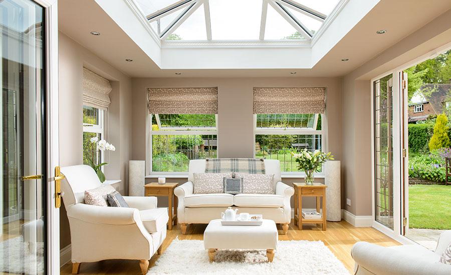 Orangeries home glazing inspiration for Orangery lighting ideas