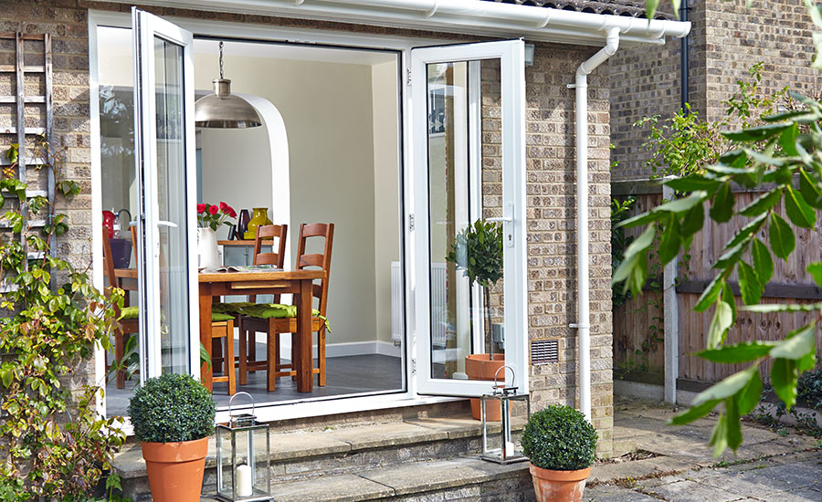 French doors home glazing inspiration for Double opening patio doors