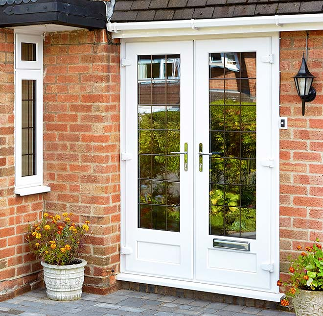 French doors home glazing inspiration for All glass french doors