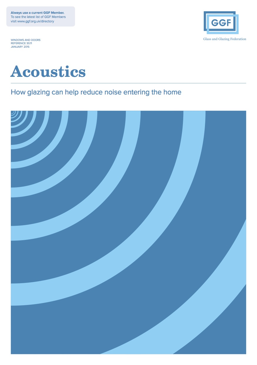 Acoustics - How glazing can help reduce noise entering the home