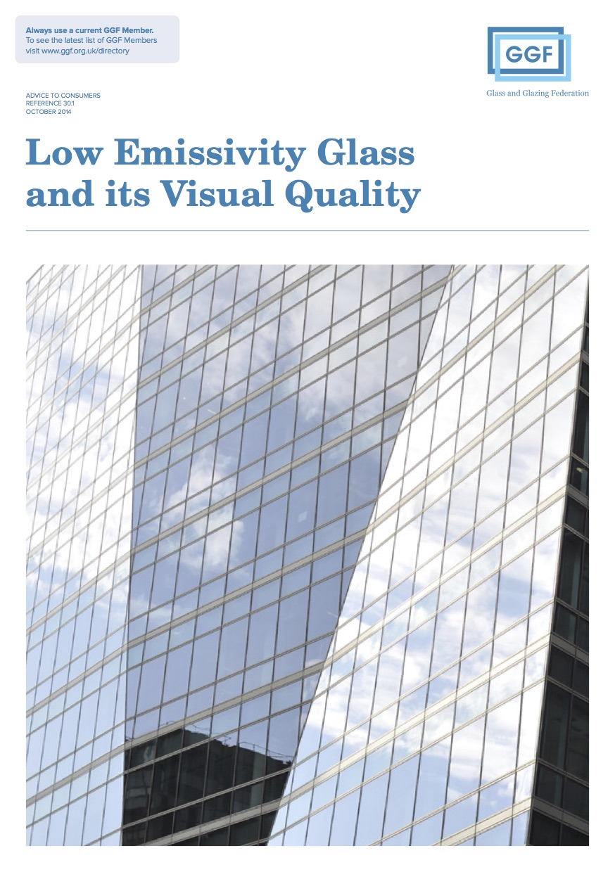 Low Emissivity Glass and its Visual Quality