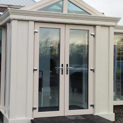 Turkington windows conservatories lisburn for Upvc french doors northern ireland