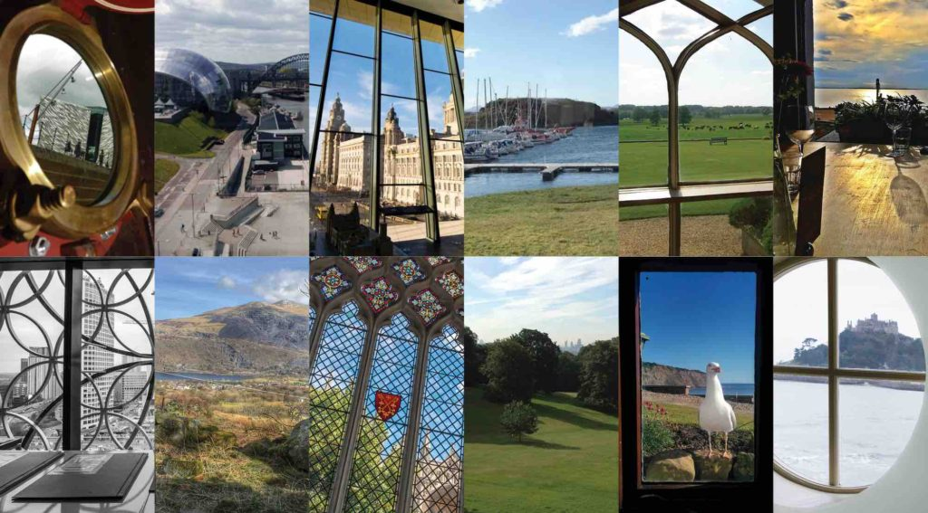 MyGlazing window with a view competition regional finalists tourist sites