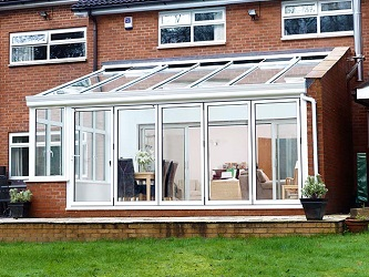 Lean to conservatory by Everest Limited