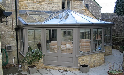t shaped conservatory by anglian home improvements