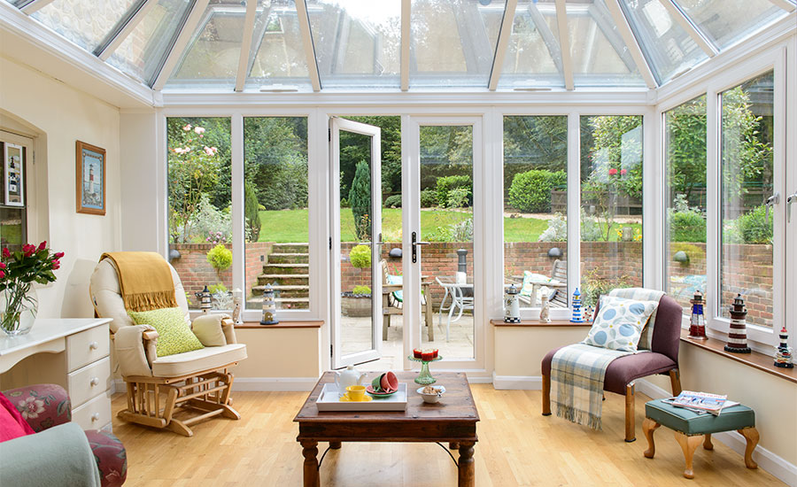 interior conservatory traditional windows furniture