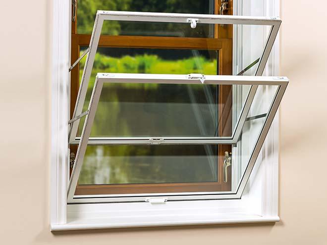 open secondary glazing on window everest