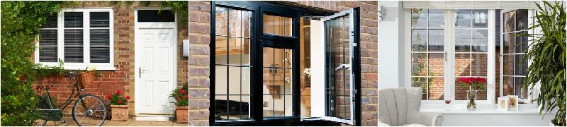 casement windows collage