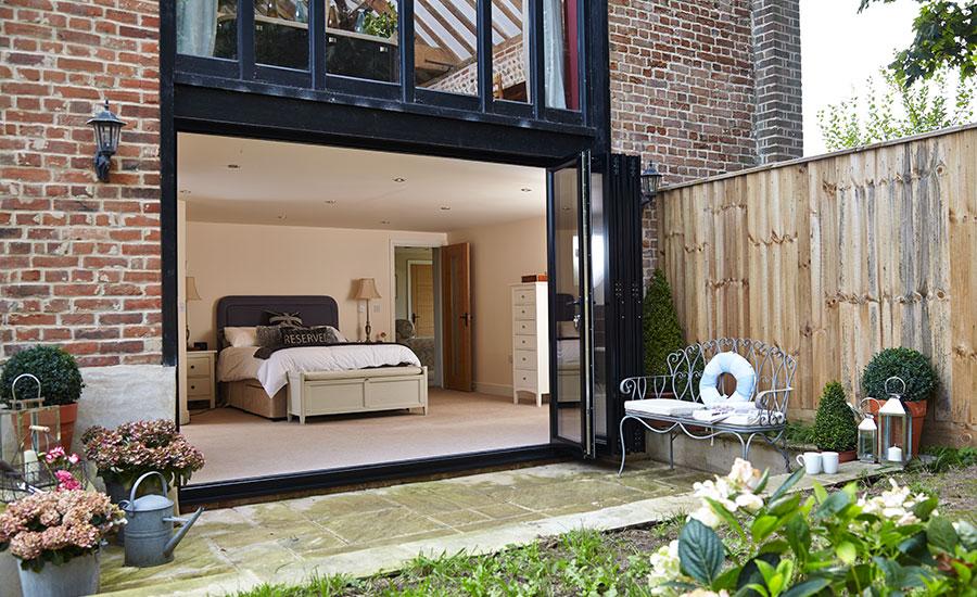 bi-folding doors by anglian home improvements
