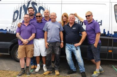 Alan Layton & Jason Bradshaw with DIY SOS Team