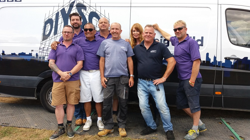 hazlemere windows staff on bbc diy sos