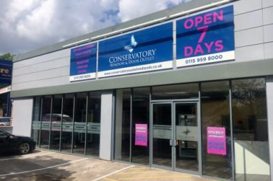 Conservatory, Window & Door Outlet opens new showroom