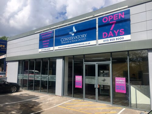 Conservatory Window and Door Outlet Nottingham showroom