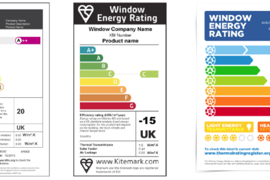 Energy Ratings labels - how they work for windows